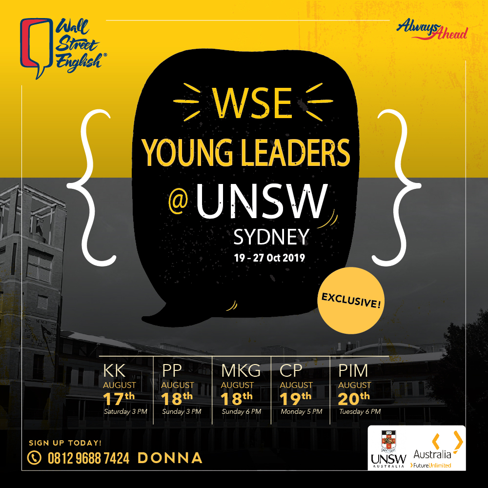 WSE Young Leaders @UNSW Sydney